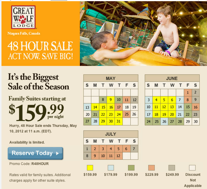 Great Wolf Lodge Promo Code